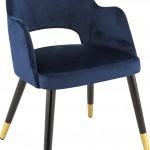 Bistro stoel warm blue